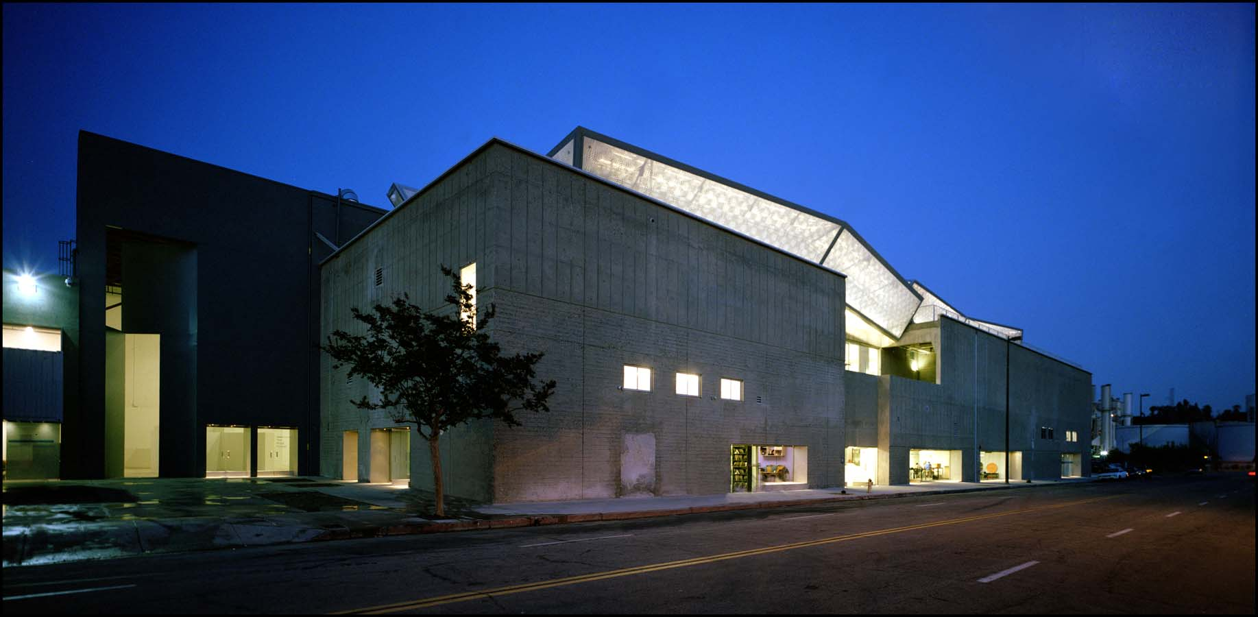 Art Center's south campus, a Daly-Genik renovation of a former supersonic jet testing facility.