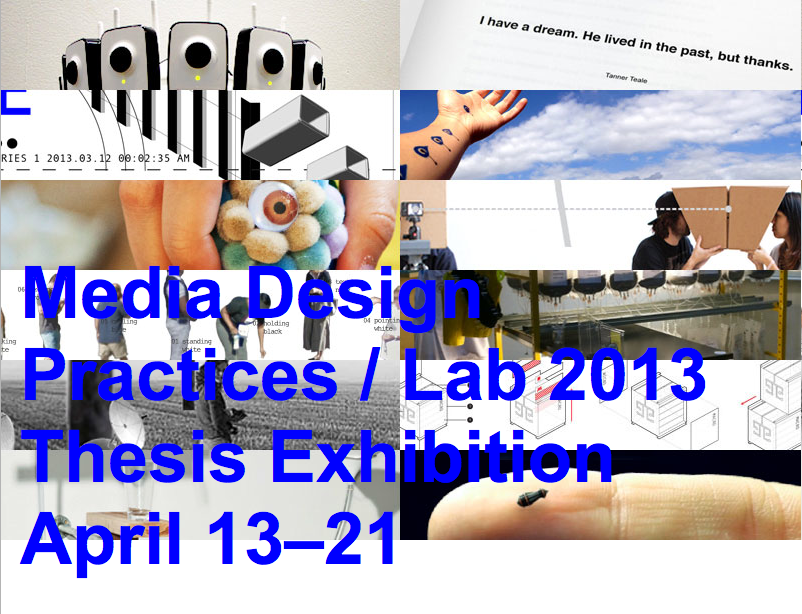 MDP/Lab 2013 Thesis
