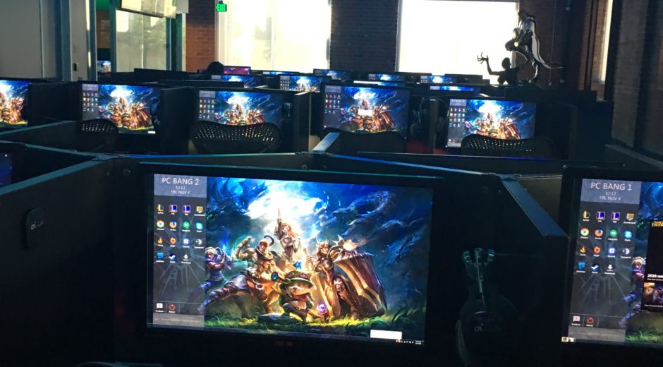 The Riot Games PC Bang. Photo by Yaewon Kim