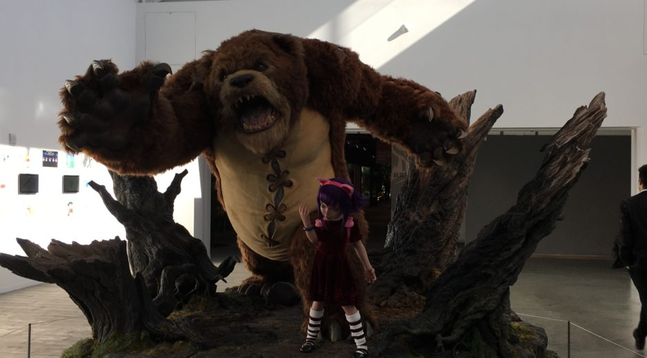 Annie & Tibbers at human scale. Photo by Sally Liu